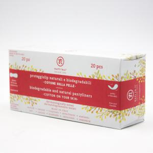 Proteggi slip biodegradabili e naturali NAPPYNAT, 20 pezzi