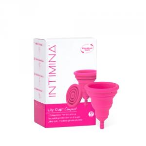 Lily Cup Compact Intimina Coppetta Mestruale Ecologica, Misura B
