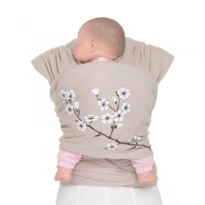 Fascia Portabebé Moby Wrap Design Almond Blossom