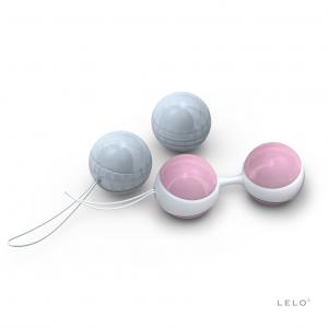 Sfere della Luna Beads Mini Lelo, per ginnastica perineale e riabilitazione Pavimento Pelvico
