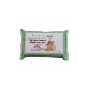 Salviette Biodegradabili umidificate con Aloe Vera per neonati, Beaming Baby
