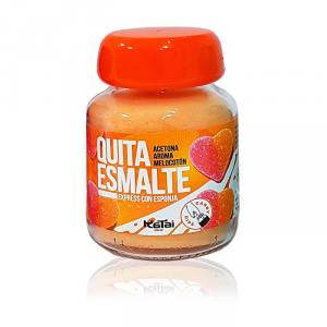 Katai Nails Acetona Nail Polish Remover Fruity Dips Peach 75ml