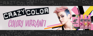 CRAZY COLOR - Colore Semipermanente - Disponibile in 44 Colorazioni