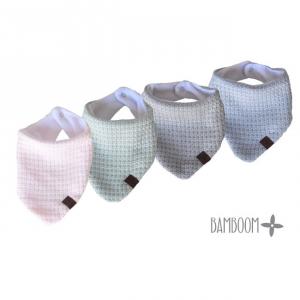 Bavaglino triangolare per neonato Bambino Soft Stone Bamboom