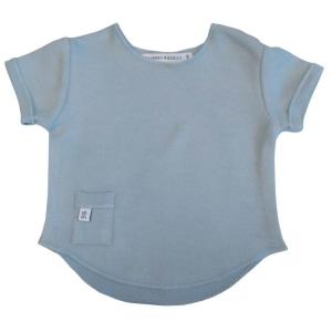 Maglietta neonato manica corta Bamboom Blue