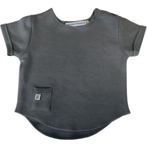 Maglietta neonato manica corta Bamboom Dark Grey