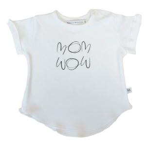 Maglietta neonato manica corta Bamboom MomWow