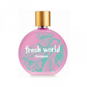Desigual Fresh World Woman Eau De Toilette Spray 100ml