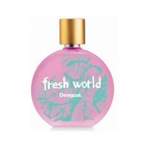 Desigual Fresh World Woman Eau De Toilette Spray 50ml
