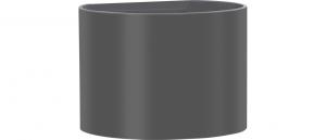 Applique antracide cilindrica Alluminio Emissione Luce Sopra e Sotto Lampada Led 7 watt