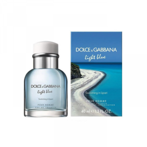 Dolce And Gabbana Light Blue Swimming In Lipari Eau De Toilette Spray 40ml