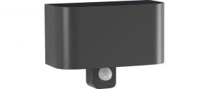 Applique antracide cilindrica Alluminio Emissione Luce Sopra e Sotto Lampada Led 7 con sensore di movimento-2