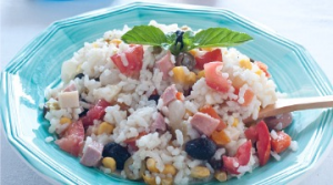 Exceptional classic rice salad (serves 8 people)
