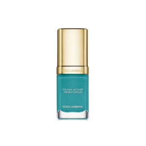 Dolce And Gabbana The Nail Lacquer Intense Nail Lacquer 718 Turquoise