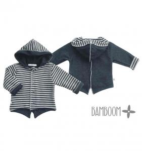 Cardigan con cappuccio per neonato Bamboom