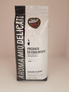Caffè in grani Aroma Mio Vergnano Pregiato ed Equilibrato 1Kg