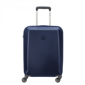 Delsey - Pilatus - Trolley da cabina Ryanair 55 cm slim rigido 4 ruote TSA blu cod. 3512803