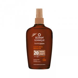 Ecran Sunnique Silky Mist Dry Oil Protector Spf20 200ml