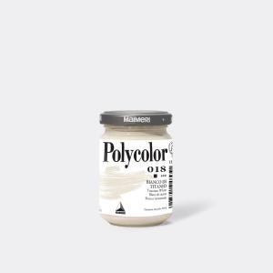 Colore MAIMERI POLYCOLOR 140ML BIANCO DI TITANIO per dipingere