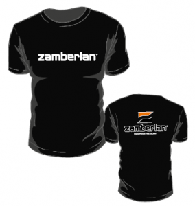 T-SHIRT ZAMBERLAN® - Black