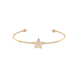 Bracelet in rose gold and diamonds