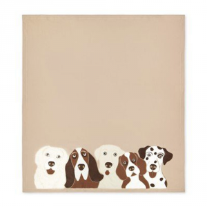 Plaid in pile 160x180 cm MaryPlaid Dogs idea regalo originale