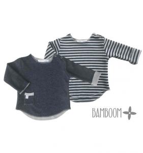Maglietta neonato manica lunga Bamboom