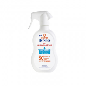 Denenes Sunscreen Atopic Skin Spf50 Spray 300ml