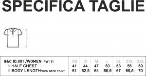 POLO B&C 547.42 DONNA