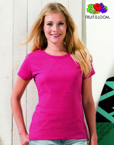T-SHIRT FRUIT OF THE LOOM VALUEWEIGHT DONNA 136.01