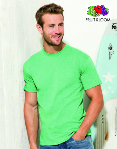 T-SHIRT FRUIT OF THE LOOM VALUEWEIGHT UNISEX 150.01