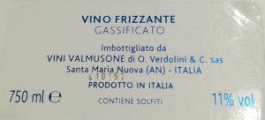 Vino Frizzante Mille Bolle