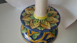Porta rotolo ceramica