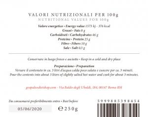 Pastina ZeroCereali con Farina di Sesamo. No Glutine - No Legumi - No Latticini