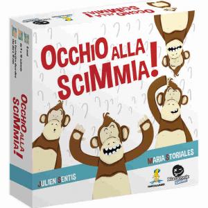 Occhio alla Scimmia Gioco da tavolo Edizione Italiana MANCALAMARO