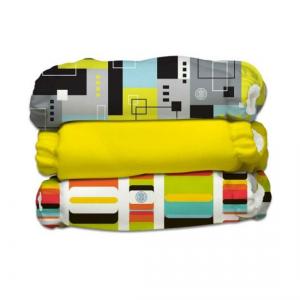 Kit 3 pannolini lavabili Pocket One Size Charlie Banana ARTISTA - ORGANIC