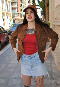 GIACCA IN RENNA VINTAGE ANNI 80