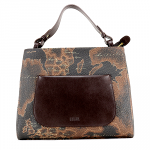 Hand and shoulder bag Alviero Martini 1A Classe GEO COUNTRY GL84 9501 502 MORO