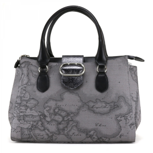 Hand and shoulder bag Alviero Martini 1A Classe WONDER GEO GL93 D556 030 GRIGIO