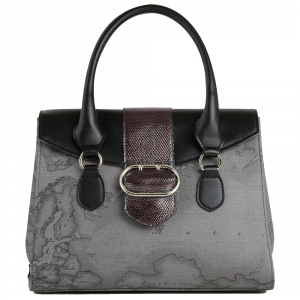 Hand and shoulder bag Alviero Martini 1A Classe WONDER GEO GL92 D556 030 GRIGIO