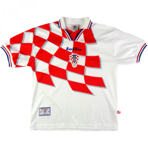 1998-01 CROATIA SHIRT HOME M (Top)