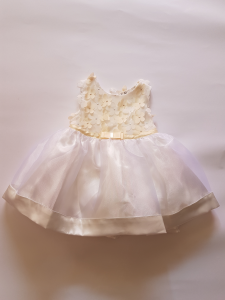 Vestito da neonata 3-24 mesi elegante con fiori