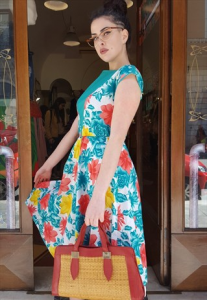 Vestito Lungo Vintage ORIGINALE ANNI 50