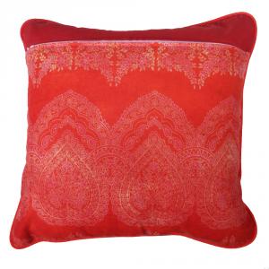 Fodera per cuscino arredo BASSETTI Granfoulard 40x40 cm BRUNELLESCHI rosso