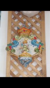 Acquasantiere ceramica dì Caltagirone