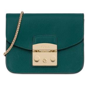 Hand and shoulder bag Furla METROPOLIS 978105 CIPRESSO e