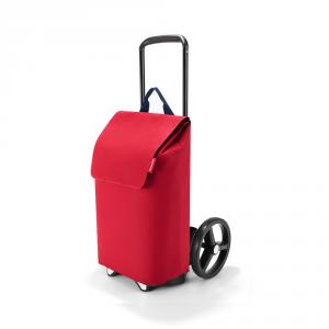 Reisenthel - Citycruiser - Set composto da struttura in plastica e borsone rosso