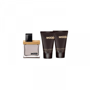 Dsquared2 He Wood Eau De Toilette Spray 30ml Set 3 Parti 2018