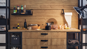 Fly06 cucina in legno