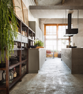 FLY02 cucina in legno